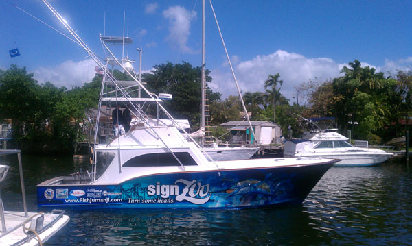 Miami Fishing Charters Jumanji